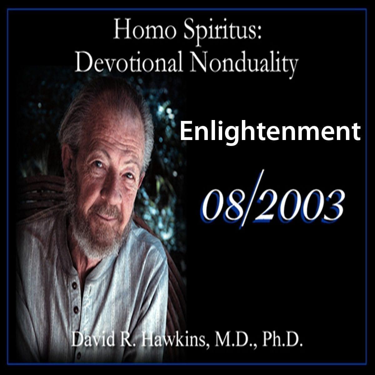 """Enlightenment"" August 2003 dvd"