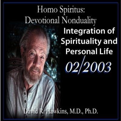 Integration of Spirituality and Personal Life Feb 2003 dvd