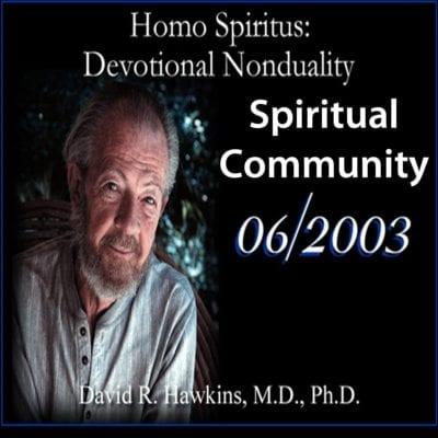 Spiritual Community June 2003 cd