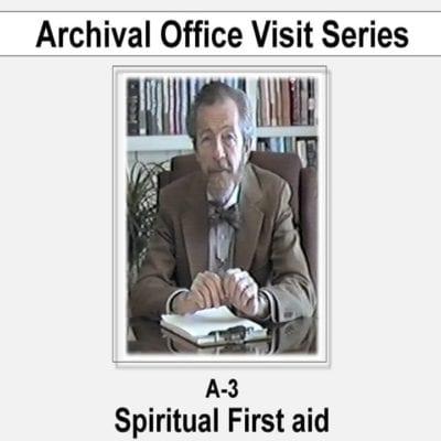 Spiritual First Aid dvd