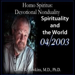 Spirituality and the World April 2003 cd