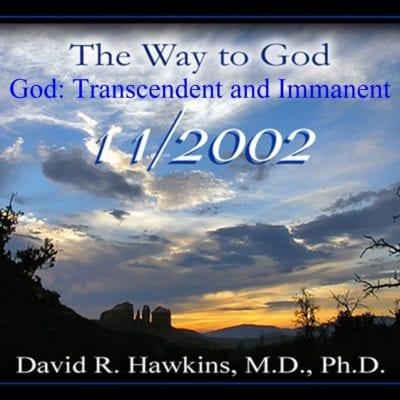 God: Transcendent and Immanent Nov 2002 cd