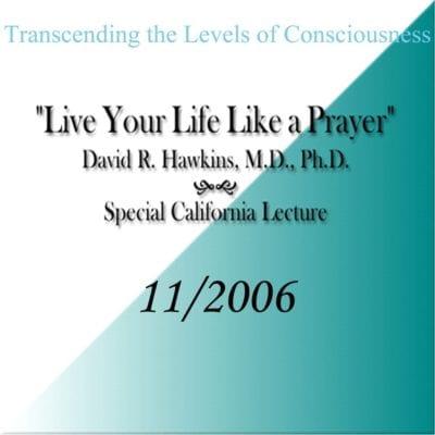 """""""Live Your Life Like a Prayer"""" Nov 2006 cd"""