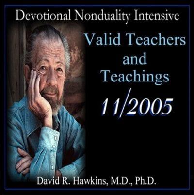 Valid Teachers and Teachings Nov 2005
