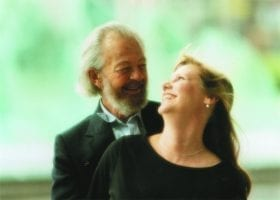 Dr. Hawkins and wife, Susan